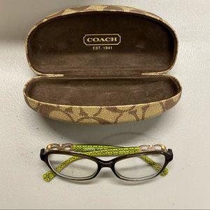 Coach Eyeglasses HC 6017 Vanessa DK 5036 Olive